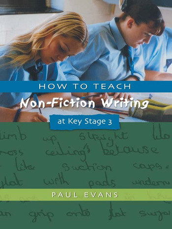 How to Teach Non-Fiction Writing at Key Stage 3 book cover