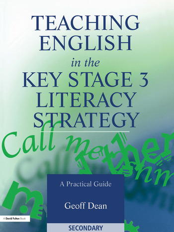 Teaching English in the Key Stage 3 Literacy Strategy book cover