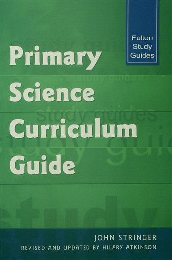 Primary Science Curriculum Guide book cover