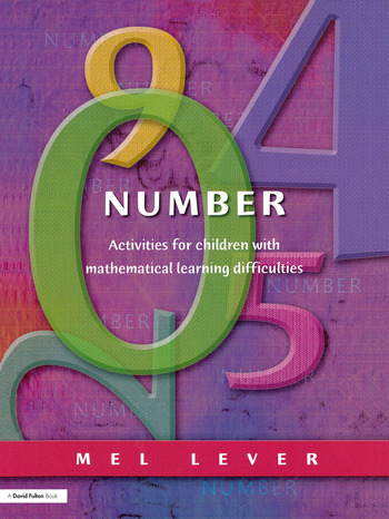 Number Activities for Children with Mathematical Learning Difficulties book cover