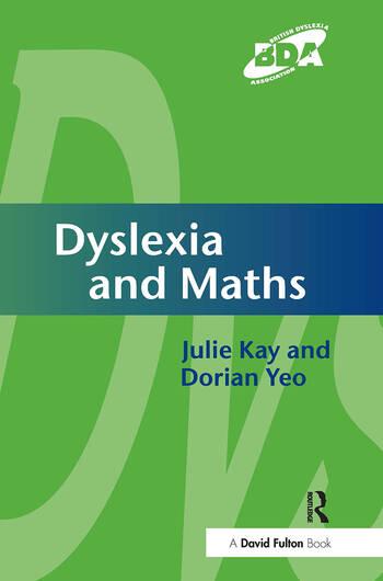 Dyslexia and Maths book cover