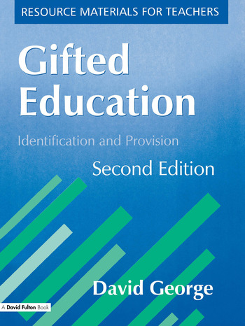 Gifted Education Identification and Provision book cover