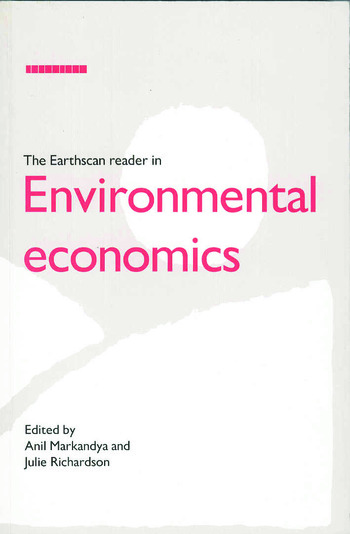 The Earthscan Reader in Environmental Economics book cover