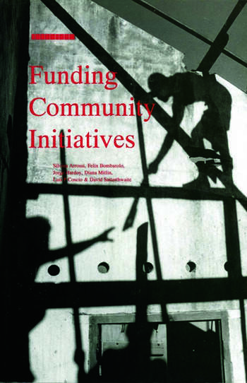 Funding Community Initiatives book cover