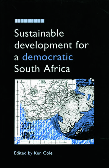 Sustainable Development for a Democratic South Africa book cover