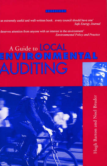 A Guide to Local Environmental Auditing book cover