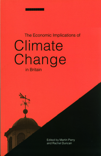The Economic Implications of Climate Change in Britain book cover