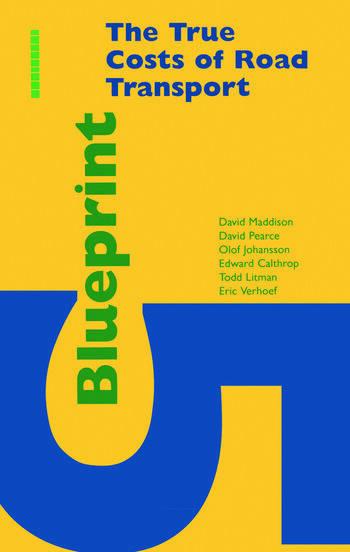 Blueprint 5 True Costs of Road Transport book cover