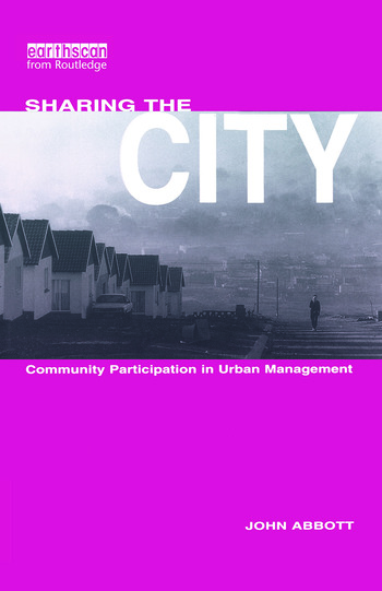 Sharing the City Community Participation in Urban Management book cover