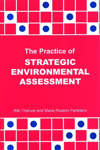 The Practice of Strategic Environmental Assessment book cover