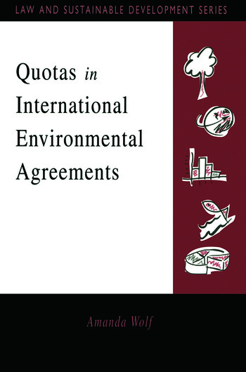 Quotas in International Environmental Agreements book cover