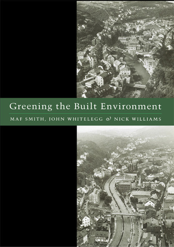 Greening the Built Environment book cover