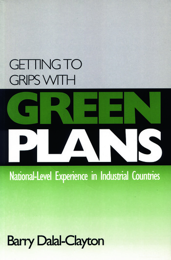 Getting to Grips with Green Plans National-level Experience in Industrial Countries book cover