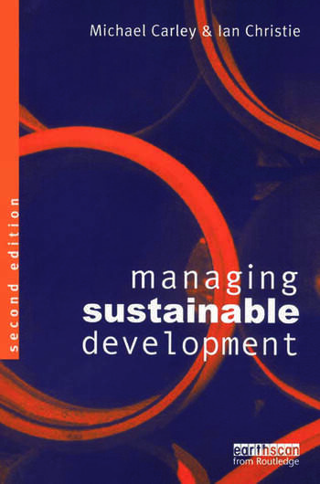 Managing Sustainable Development book cover
