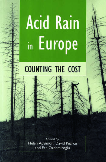 Acid Rain in Europe Counting the cost book cover