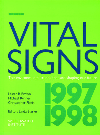 Vital Signs 1997-1998 The Trends That Are Shaping Our Future book cover