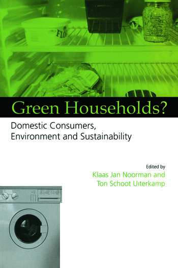 Green Households Domestic Consumers, the Environment and Sustainability book cover