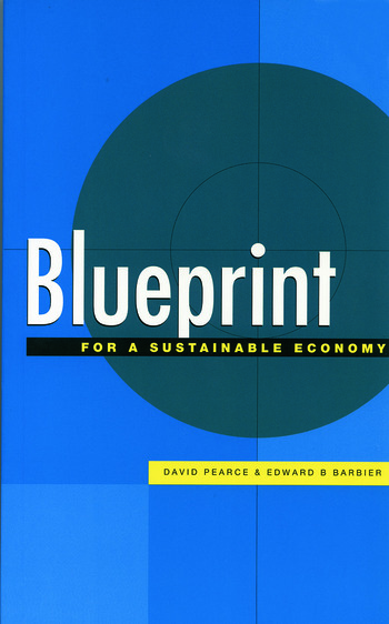 Blueprint 6 For a Sustainable Economy book cover
