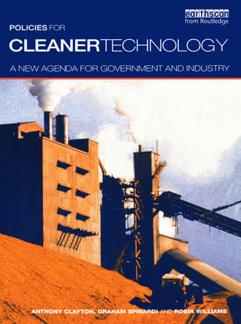 Policies for Cleaner Technology A New Agenda for Government and Industry book cover