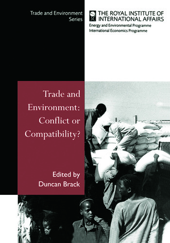 Trade and Environment Conflict or Compatibility book cover