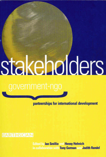 Stakeholders Government-NGO Partnerships for International Development book cover