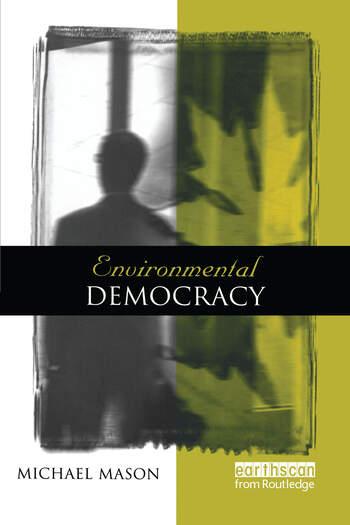Environmental Democracy A Contextual Approach book cover