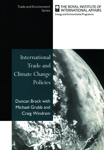 International Trade and Climate Change Policies book cover