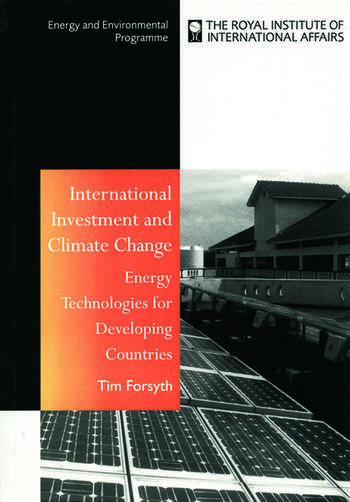 International Investment and Climate Change Energy Technologies for Developing Countries book cover