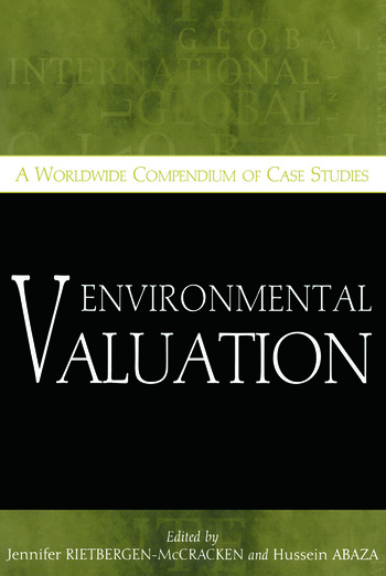 Environmental Valuation A Worldwide Compendium of Case Studies book cover
