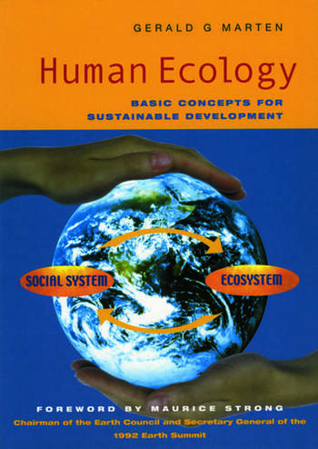 Human Ecology Basic Concepts for Sustainable Development book cover