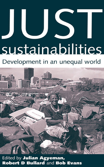 Just Sustainabilities Development in an Unequal World book cover