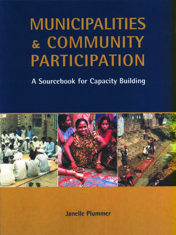 Municipalities and Community Participation A Sourcebook for Capacity Building book cover