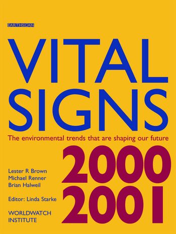 Vital Signs 2000-2001 The Environmental Trends That Are Shaping Our Future book cover