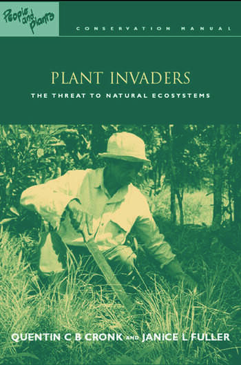 Plant Invaders The Threat to Natural Ecosystems book cover