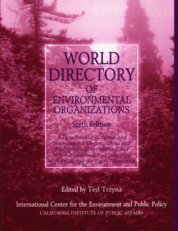 World Directory of Environmental Organizations book cover