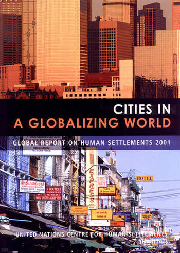 Cities in a Globalizing World Global Report on Human Settlements book cover