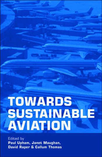 Towards Sustainable Aviation book cover