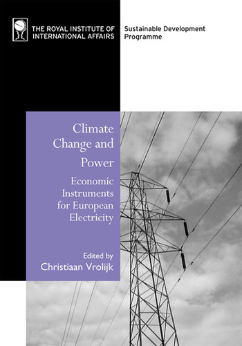 Climate Change and Power Economic Instruments for European Electricity book cover