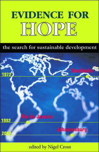 Evidence for Hope The Search for Sustainable Development book cover
