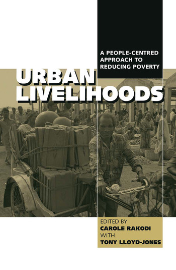 Urban Livelihoods A People-centred Approach to Reducing Poverty book cover