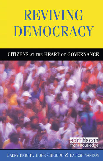 Reviving Democracy Citizens at the Heart of Governance book cover