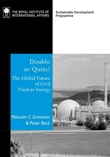 Double or Quits? The Future of Civil Nuclear Energy book cover