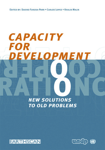 Capacity for Development New Solutions to Old Problems book cover