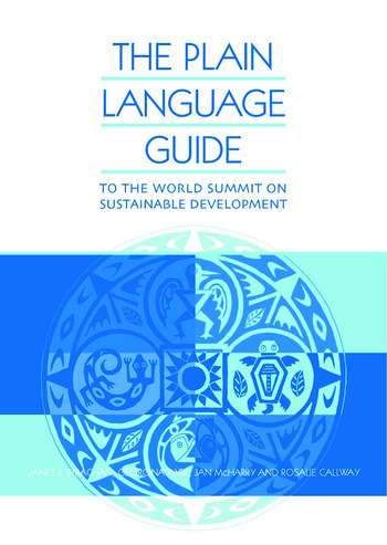 The Plain Language Guide to the World Summit on Sustainable Development book cover