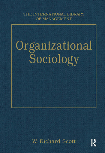 Organizational Sociology book cover