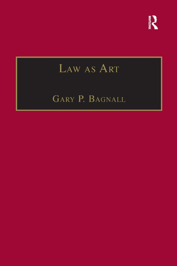 Law as Art book cover