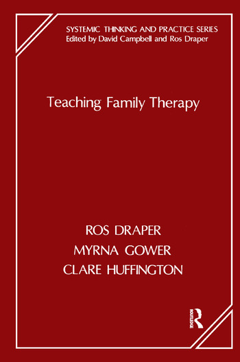 Teaching Family Therapy book cover