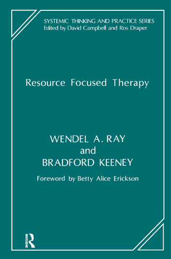 Resource Focused Therapy book cover