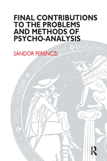 Final Contributions to the Problems and Methods of Psycho-analysis book cover