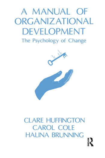 A Manual of Organizational Development The Psychology of Change book cover